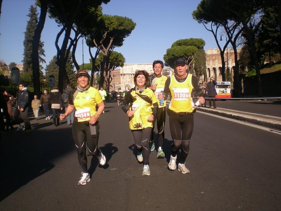 Jour de l'an à rome jean claude nous a transmis de belles photos